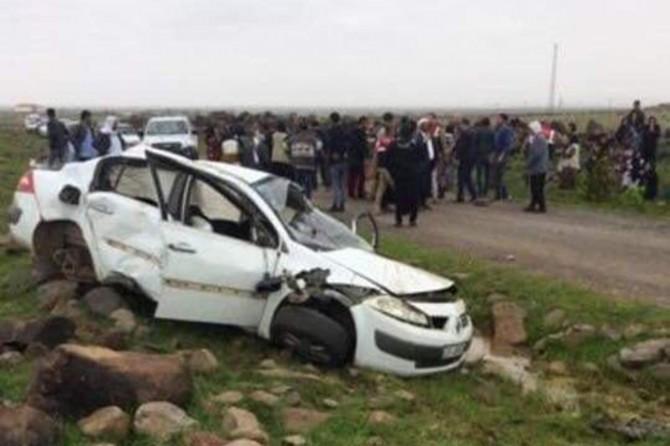 Viranşehir'de kaza: Bir ölü 2 yaralı