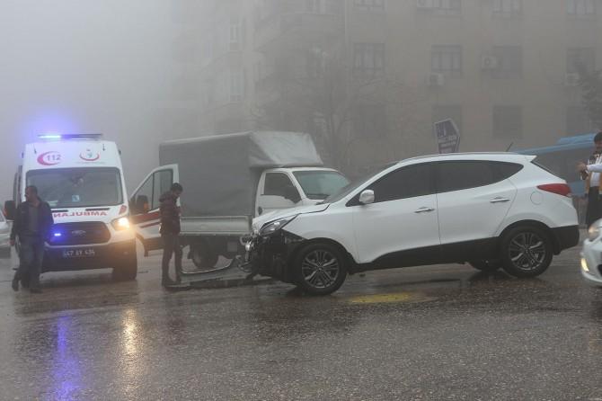 Mardin'de yoğun sis kazaları da beraberinde getirdi