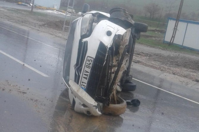 Bitlis'te kaza: Bir yaralı