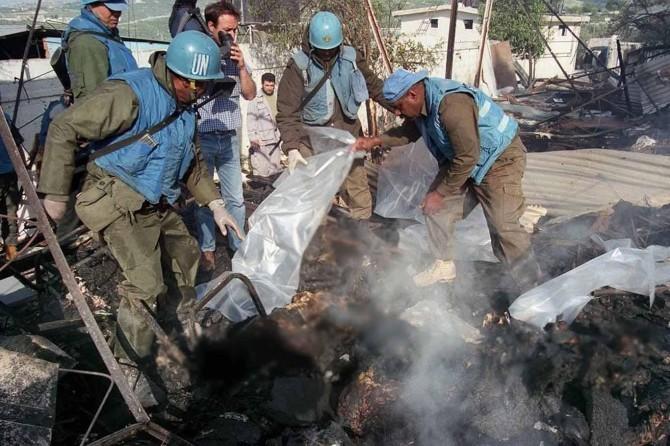 Qana massacre of zionist regime remains in memories