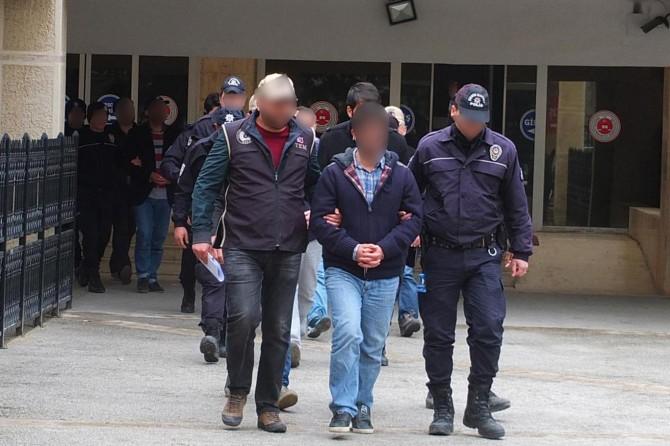 Mardin merkezli FETÖ operasyonunda 5 tutuklama