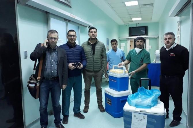 Mardin'de yaşlı kadının organları 3 hastaya umut oldu