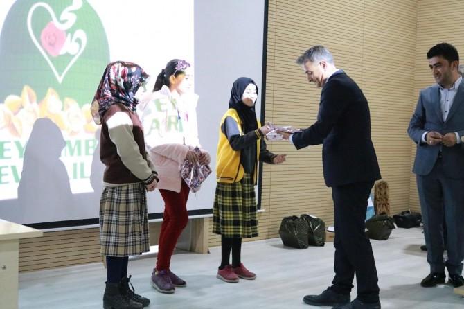 Siyer Sınavında Bismil'de dereceye girenlere ödülleri verildi