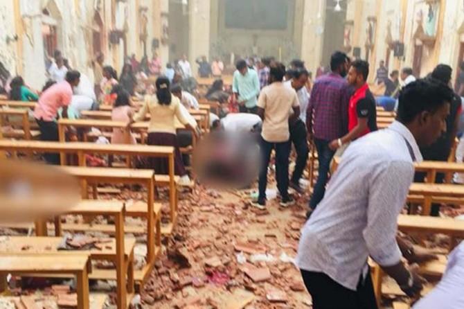 Sri Lanka'da 3 kilise ve 3 otelde patlama