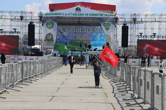 İstanbul Muhammed-i sevdaya hazır