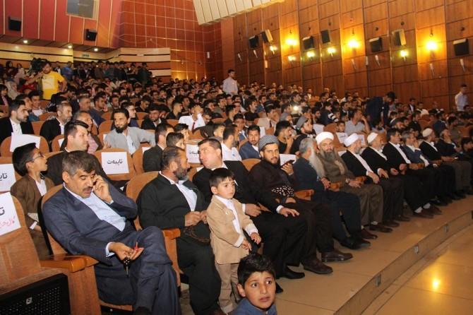 Irak Kürdistanı'ndaki Hazreti Muhammed'i anma etkinliği büyük takdir topladı