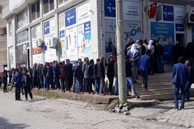 Viranşehir'de İŞKUR başvuruları başladı