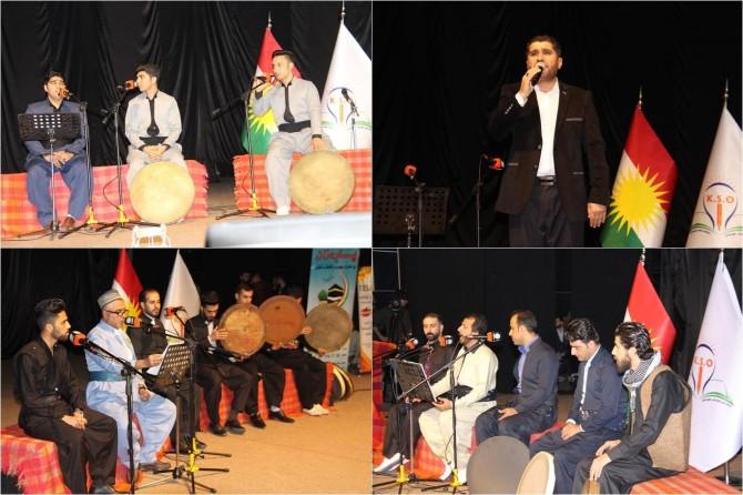 Kürd sanatçılar Hazreti Muhammed'i Tanıtma ve Sevdirme etkinliğinde buluştu