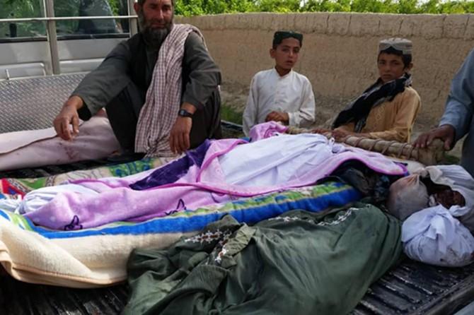 Amerîka li Efxanistanê 3 zarokan qetil kir