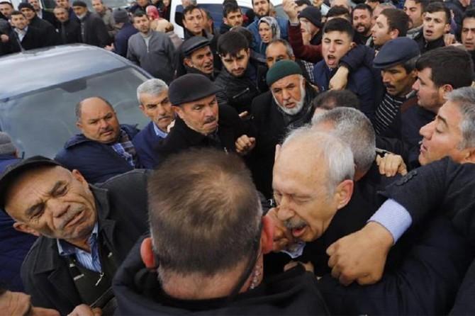 Kılıçdaroğlu'na yumruk atan Sarıgün adliyeye sevk edildi
