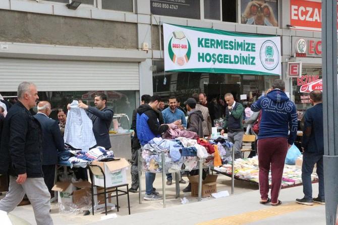 Mardin'de muhtaç aileler yararına kermes