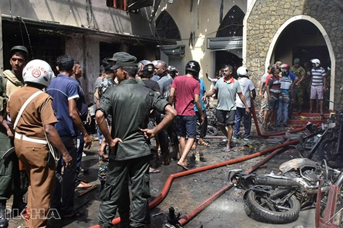Death toll increases 359 in Sri Lanka, 100 people in custody