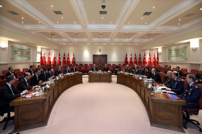 Akar-Çavuşoğlu görüşmesinin ardından açıklama