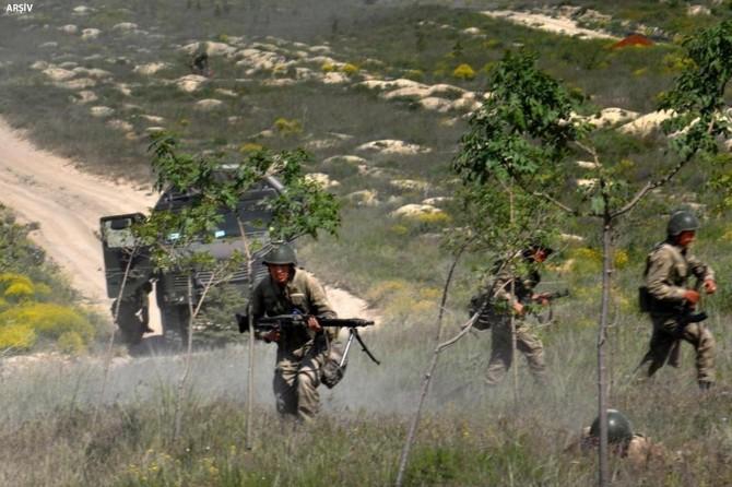 Li Licê operasyona PKKê: 3 mirî