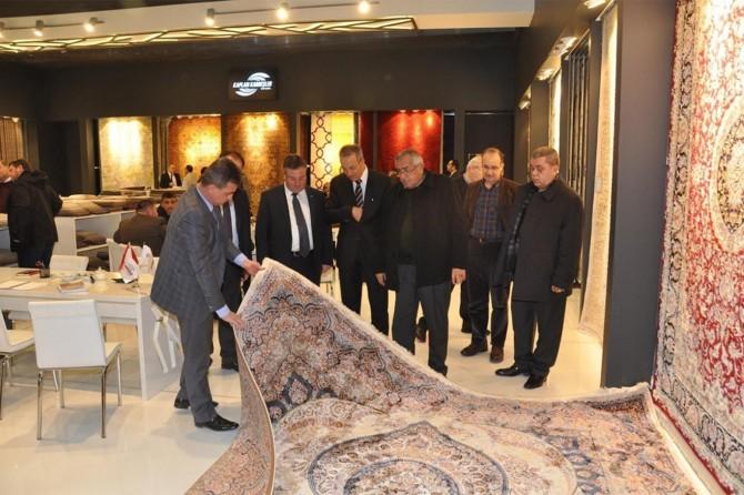 Türkiye'nin en büyük halı fuarı Gaziantep'te açılacak