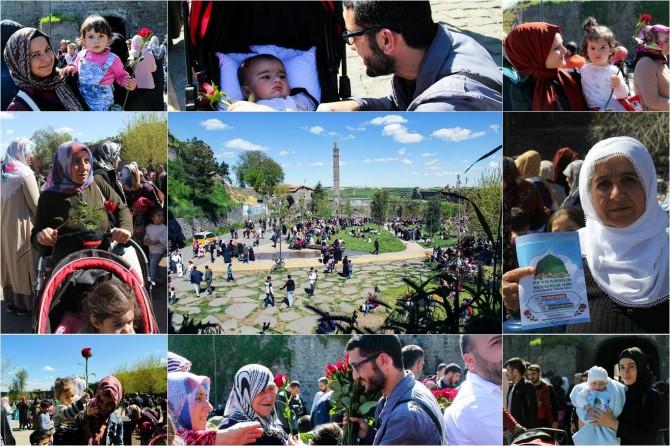 Diyarbakırlılar Muhammedî sevdaya güllerle davet edildi