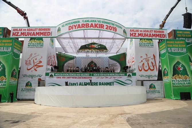 Diyarbakır'daki tarihi etkinliğin program akışı belli oldu