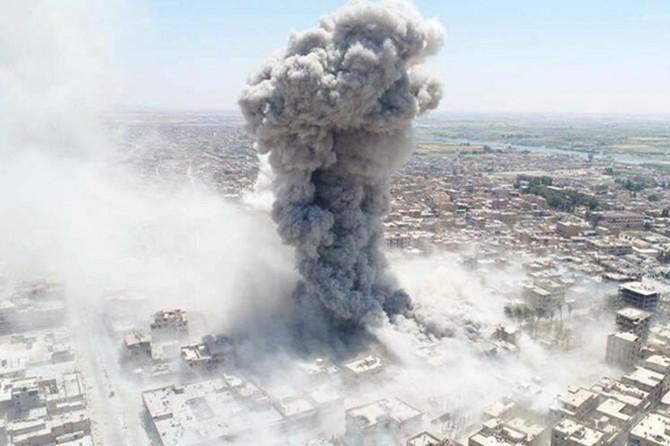ABD, Rakka'da bin 600 sivili öldürdü
