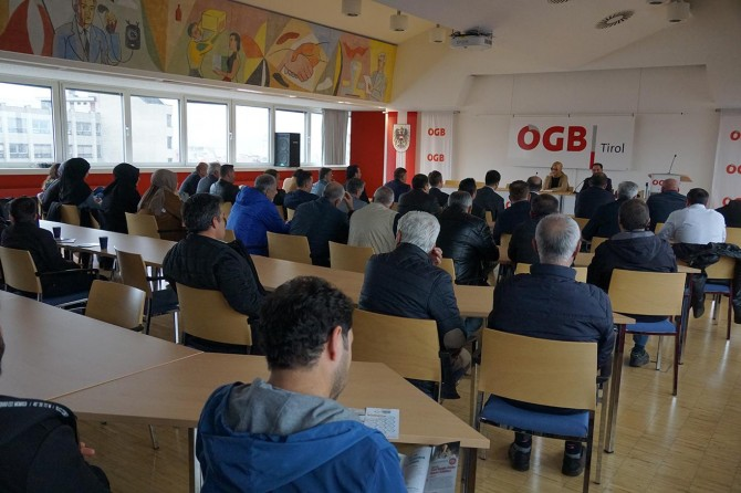 Yurt dışında yaşayan Türkiye vatandaşları bir araya geldi