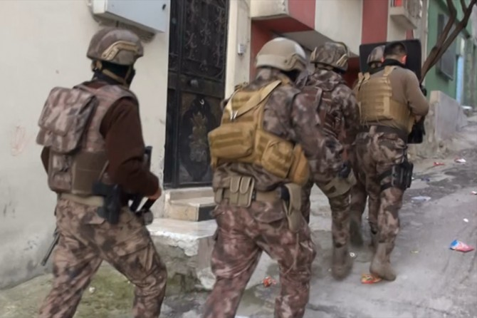 Gaziantep'te PKK operasyonu: 21 gözaltı