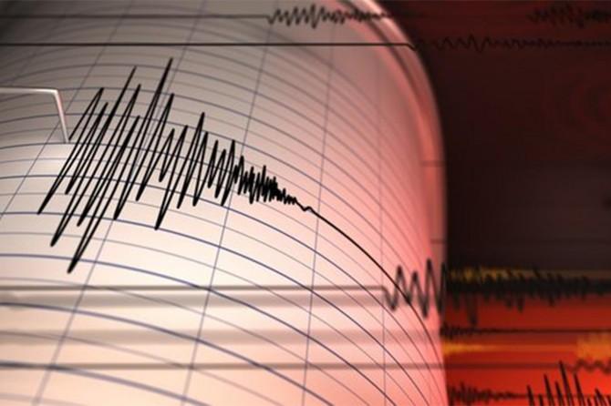 Ayvacık'ta 4,1 büyüklüğünde deprem