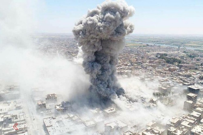 US killed more than 1,600 civilians in Raqqa