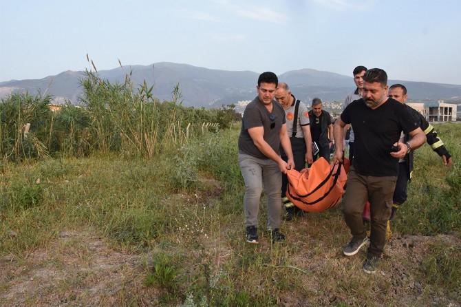 İskenderun'da su kanalında erkek cesedi bulundu