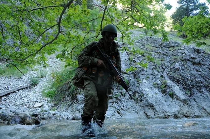 Hatay'da 5 PKK'li öldürüldü