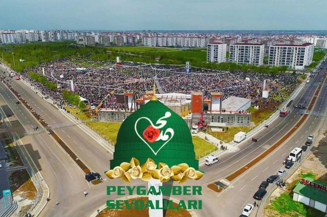 Peygamber Sevdalılarından Diyarbakır'daki etkinlik sonrası teşekkür mesajı