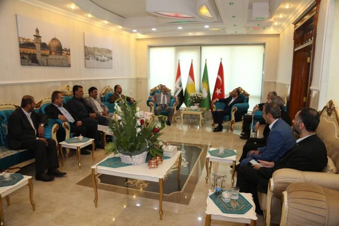 Erbil'de temsilcilik açan HÜDA PAR'a yoğun ziyaret
