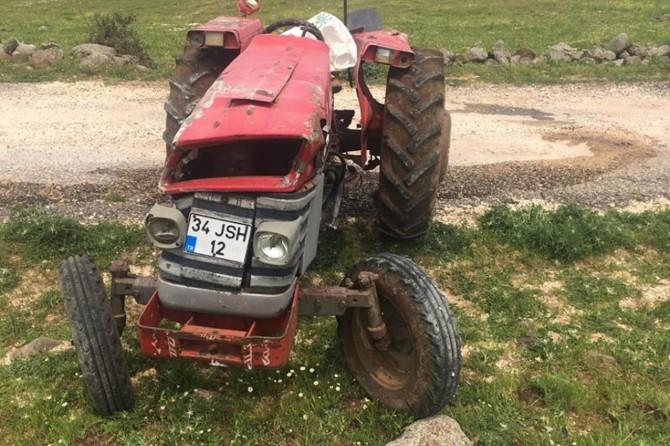 Yavuzeli'nde devrilen traktörün altında kalan sürücü hayatını kaybetti