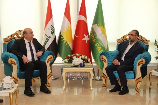 Erbil Valisi'nden HÜDA PAR'a hayırlı olsun ziyareti