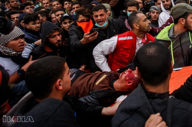 Four Palestinians martyred in zionists gangs attack