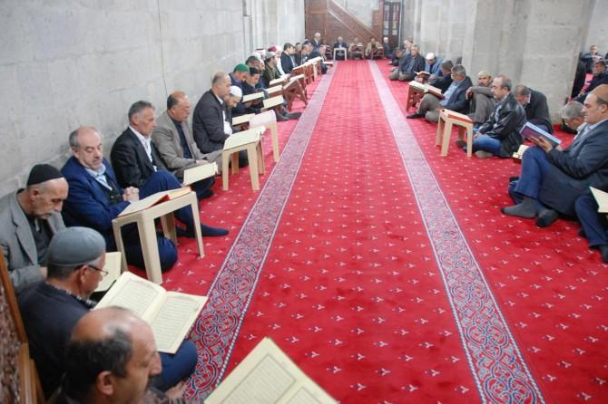 Bitlis'te mukabele heyecanı yaşandı