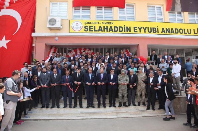 Siverek'te Eğitim Kampüsü açıldı