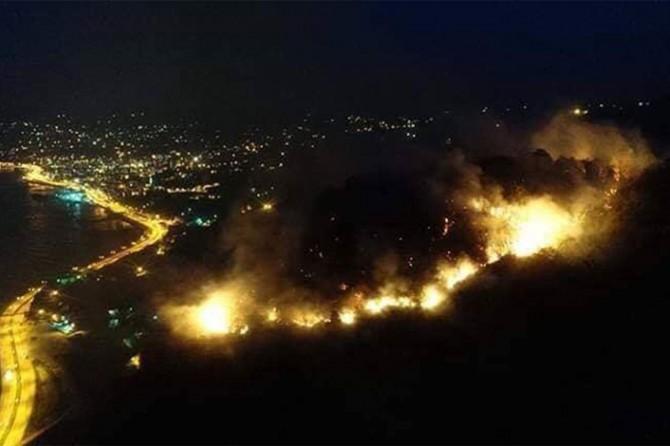 Espiye'de kontrol edilemeyen yangın büyüyor
