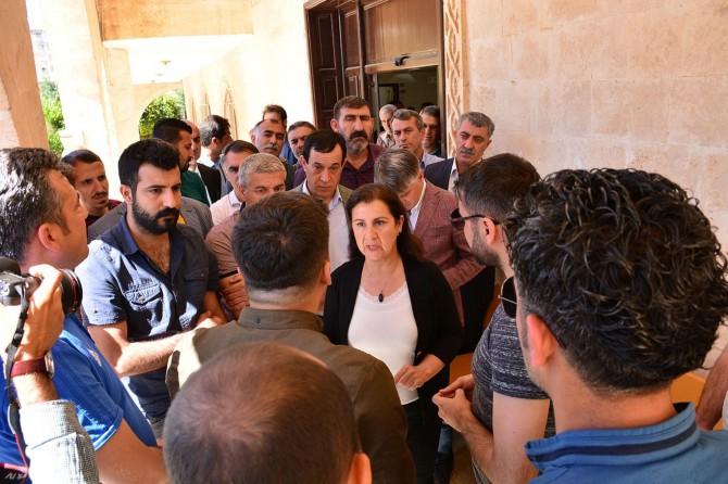 Kızıltepe Belediyesinde güvenliğin polise devredilmesi HDP'lilerin tepkisini çekti