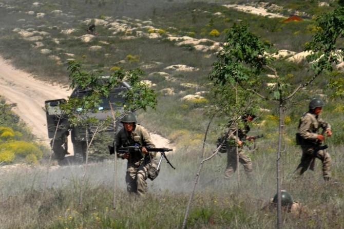 Tunceli'de PKK operasyonu: 3 kamp imha edildi