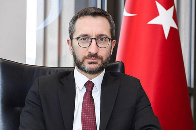 Cumhurbaşkanlığı İletişim Başkanı Altun'dan İstanbul paylaşımı