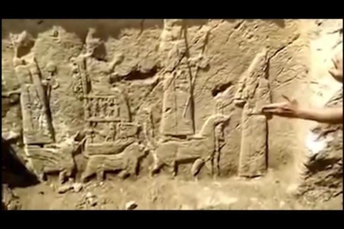 Irak'ta su çalışması yapılırken tarihi eser keşfedildi