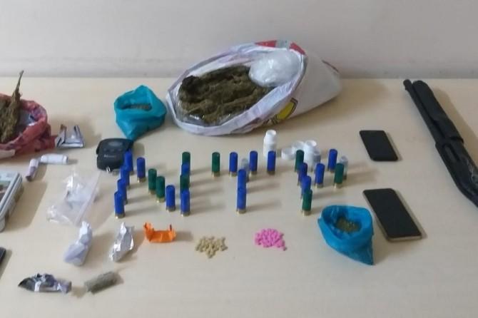 Gaziantep Şahinbey'de uyuşturucu operasyonu: 9 gözaltı