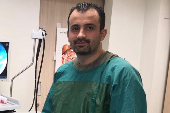 Siirt Devlet Hastanesinde 7 santim polip lezyonu kansere dönüşmeden çıkarıldı