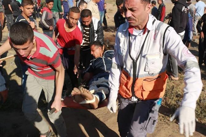 Siyonistler Nekbe gösterilerine saldırdı: 65 yaralı