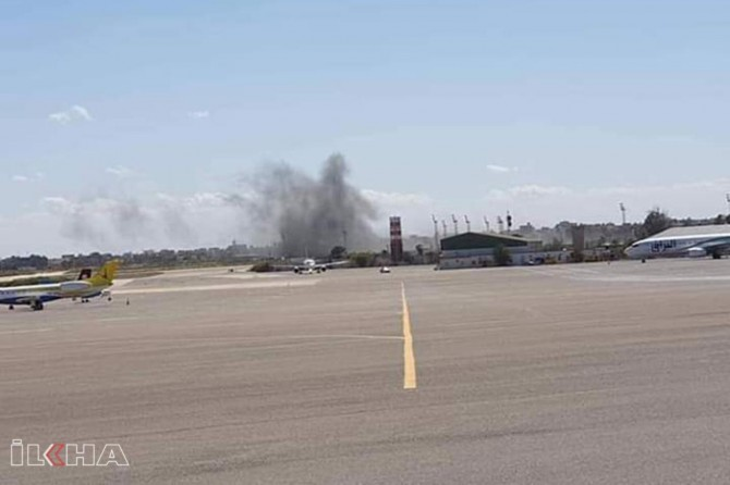 Tripoli Airport under the control of government forces