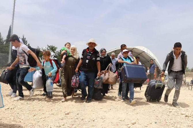 Ülkesine dönen Suriyeli sayısı 320 bine ulaştı