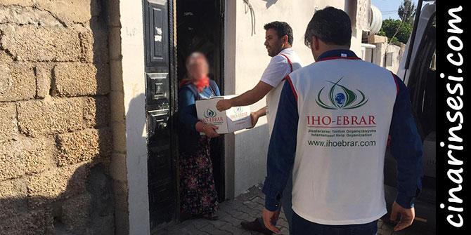 IHO EBRAR'dan Suruç'a yardım eli