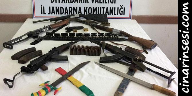 Çınar'da silah kaçakçılarına operasyon