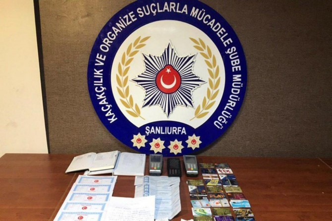 Tefeci operasyonunda 8 tutuklama