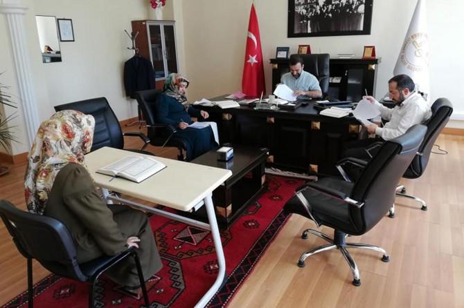 Adıyaman'da Kur'an Kursu Öğreticiliği sınavı yapıldı