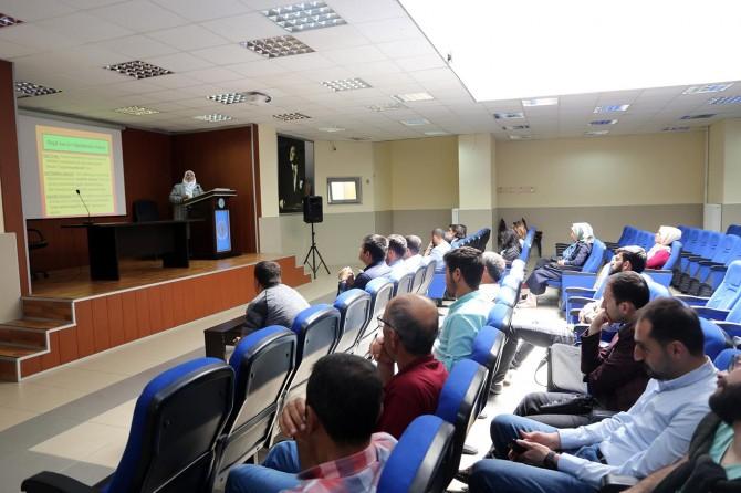 Bingöl Üniversitesinde arıcılara Ana Arı Yetiştiriciliği eğitimi